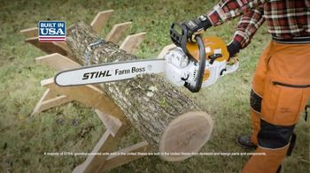 STIHL TV Spot, 'Real People: Hedge Trimmers and Chainsaws' - Thumbnail 6
