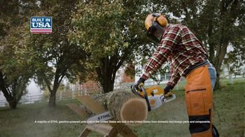 STIHL TV Spot, 'Real People: Hedge Trimmers and Chainsaws' - Thumbnail 7