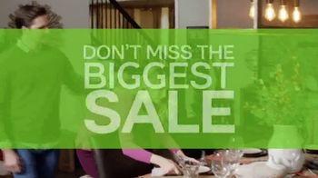 Ashley HomeStore TV Spot, 'Biggest Sale Ever' - Thumbnail 1