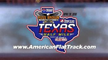 American Flat Track TV Spot, '2018 Texas Half-Mile' - Thumbnail 7