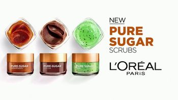 L'Oreal Paris Pure Sugar Scrubs TV Spot, 'Baby Soft Skin' - Thumbnail 4