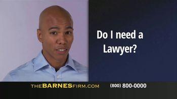 The Barnes Firm TV Spot, 'Car Accident'