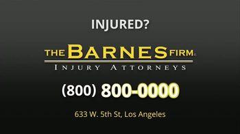 The Barnes Firm TV Spot, 'Car Accident' - Thumbnail 8