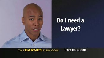 The Barnes Firm TV Spot, 'Car Accident'