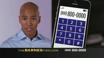 The Barnes Firm TV Spot, 'Car Accident' - Thumbnail 6