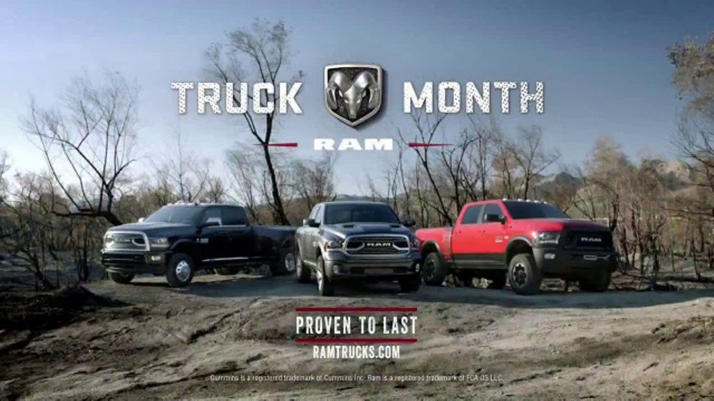Ram Truck Month TV Commercial, 'Long Live Passion' Song by Anderson East [T2]