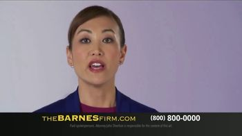 The Barnes Firm TV Spot, 'Injured in a Car Accident' - Thumbnail 1
