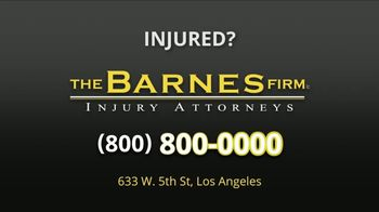 The Barnes Firm TV Spot, 'Injured in a Car Accident' - Thumbnail 8