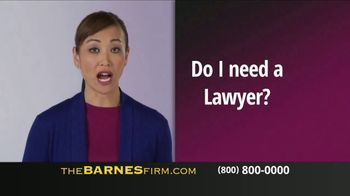 The Barnes Firm TV Spot, 'Injured in a Car Accident' - Thumbnail 4