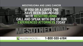 Allen & Nolte, PLLC TV Spot, 'Deadly Asbestos'