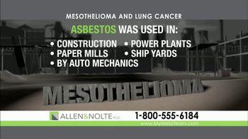 Allen & Nolte, PLLC TV Spot, 'Deadly Asbestos' - Thumbnail 2