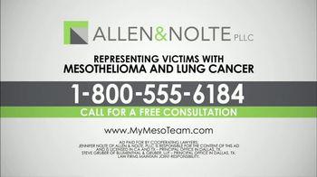 Allen & Nolte, PLLC TV Spot, 'Deadly Asbestos' - Thumbnail 4