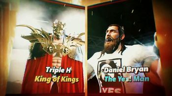 WWE: Champions TV Spot, 'Dethrone a King' Featuring Daniel Bryan - Thumbnail 1