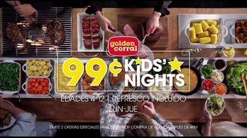 Golden Corral 99-Cent Kids' Nights TV Spot, 'Monday-Thursday' [Spanish] - Thumbnail 2