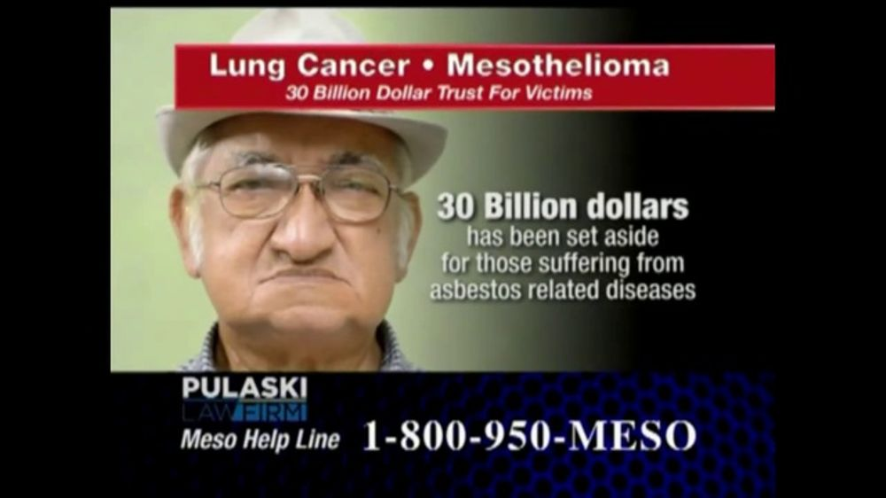 Pulaski Law Firm >> Pulaski Law Firm Tv Commercial Lung Cancer Or Mesothelioma Video
