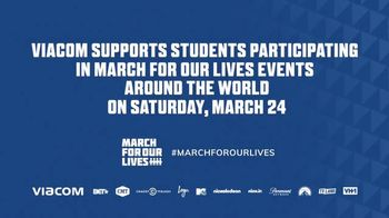 Viacom TV Spot, 'March for Our Lives' - Thumbnail 9