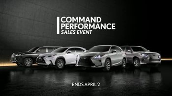 Lexus Command Performance Sales Event TV Spot, 'Confidence' [T2] - Thumbnail 5