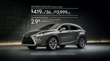 Lexus Command Performance Sales Event TV Spot, 'Confidence' [T2] - Thumbnail 6