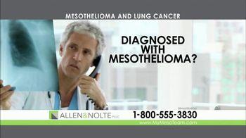 Allen & Nolte, PLLC TV Spot, 'Mesothelioma' - Thumbnail 1