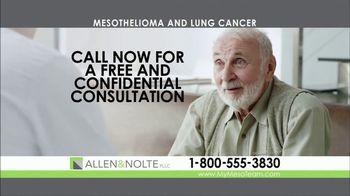 Allen & Nolte, PLLC TV Spot, 'Mesothelioma' - Thumbnail 2