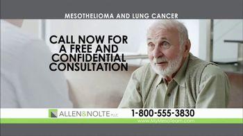 Allen & Nolte, PLLC TV Spot, 'Mesothelioma' - Thumbnail 3