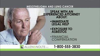 Allen & Nolte, PLLC TV Spot, 'Mesothelioma' - Thumbnail 5