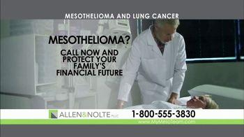 Allen & Nolte, PLLC TV Spot, 'Mesothelioma' - Thumbnail 6