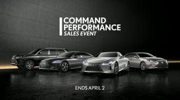 Lexus Command Performance Sales Event TV Spot, 'Craftsmanship' [T2] - Thumbnail 5