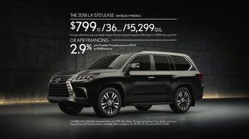 Lexus Command Performance Sales Event TV Spot, 'Craftsmanship' [T2] - Thumbnail 6