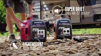 Honda Generators EU2200i TV Spot, 'The Perfect Generator for Camping' - Thumbnail 4