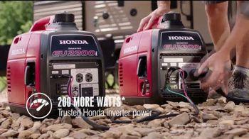 Honda Generators EU2200i TV Spot, 'The Perfect Generator for Camping' - Thumbnail 5