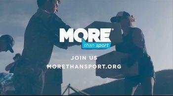 MORE Than Sport TV Spot, 'Athletes Give Back' - Thumbnail 10
