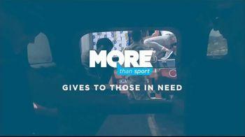 MORE Than Sport TV Spot, 'Athletes Give Back' - Thumbnail 4