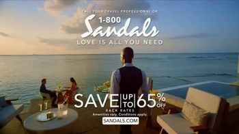 Sandals Resorts TV Spot, 'What Is Love?' - Thumbnail 10