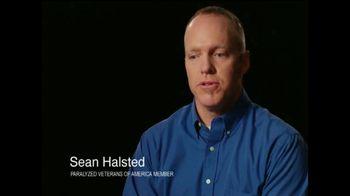 Paralyzed Veterans of America TV Spot, 'Sean Halsted' - Thumbnail 1