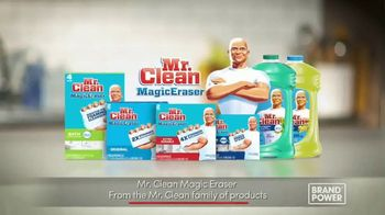 Mr. Clean Magic Eraser TV Spot, 'Impossible Cleaning Tasks' - Thumbnail 8