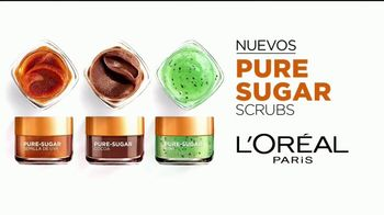 L'Oreal Paris Pure-Sugar Scrubs TV Spot, 'Ilumina' [Spanish] - Thumbnail 4