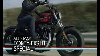Harley-Davidson TV Spot, '2018 #FortyEightSpecial and #Iron1200' - Thumbnail 5