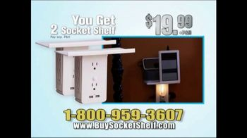 Socket Shelf TV Spot, 'Add a Shelf to Any Outlet: $19.99' - Thumbnail 10