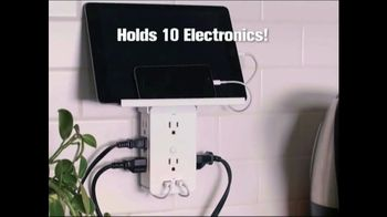 Socket Shelf TV Spot, 'Add a Shelf to Any Outlet: $19.99' - Thumbnail 2