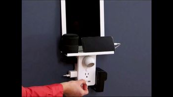 Socket Shelf TV Spot, 'Add a Shelf to Any Outlet: $19.99' - Thumbnail 3