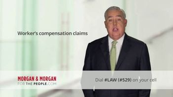 Morgan and Morgan Law Firm TV Spot, 'Workers Compensation' - Thumbnail 6