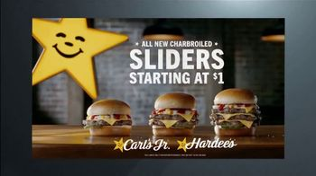 Carl's Jr. Charbroiled Sliders TV Spot, 'Ion Television: Quick Case' - Thumbnail 10