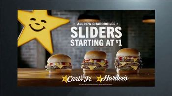 Carl's Jr. Charbroiled Sliders TV Spot, 'Ion Television: Quick Case' - Thumbnail 9