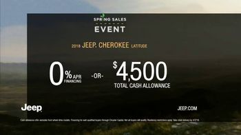 Jeep Spring Sales Event TV Spot, 'What It Takes: 2018 Cherokee' [T2] - Thumbnail 5