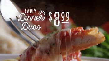 Olive Garden Early Dinner Duos TV Spot, 'Delicious Combinations' - Thumbnail 3