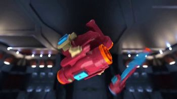 Marvel Avengers: Infinity War Nerf Assembler Gear TV Spot, 'Build & Blast' - Thumbnail 5