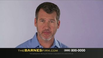 The Barnes Firm TV Spot, 'You Probably Have Questions' - Thumbnail 2