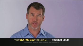 The Barnes Firm TV Spot, 'You Probably Have Questions' - Thumbnail 3