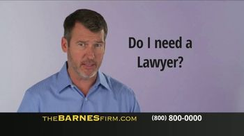 The Barnes Firm TV Spot, 'You Probably Have Questions' - Thumbnail 5